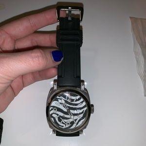 Dooney & Bourke Zebra Watch